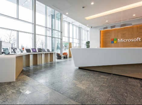 "Microsoft office in Moscow is a winner of ""Best Office from 5 000 to 10 000 m2"" within MCFO Awards"