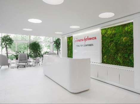 "Johnson & Johnson Office - Best Office Awards 2020 winner in nomination for ""Comfort and Ergonomics""!"